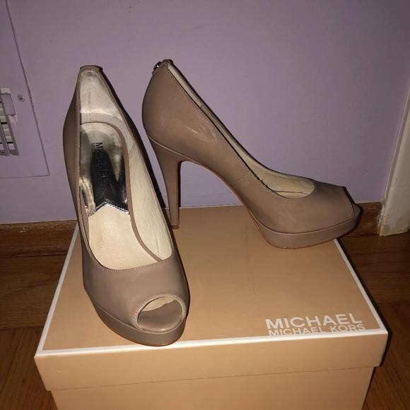 1fd71f1a52 Michael Kors Shoes | Nude Pumps | Poshmark